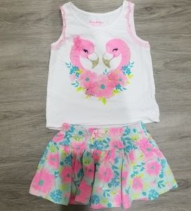 Tommy bahama girls outfit size 5-6T